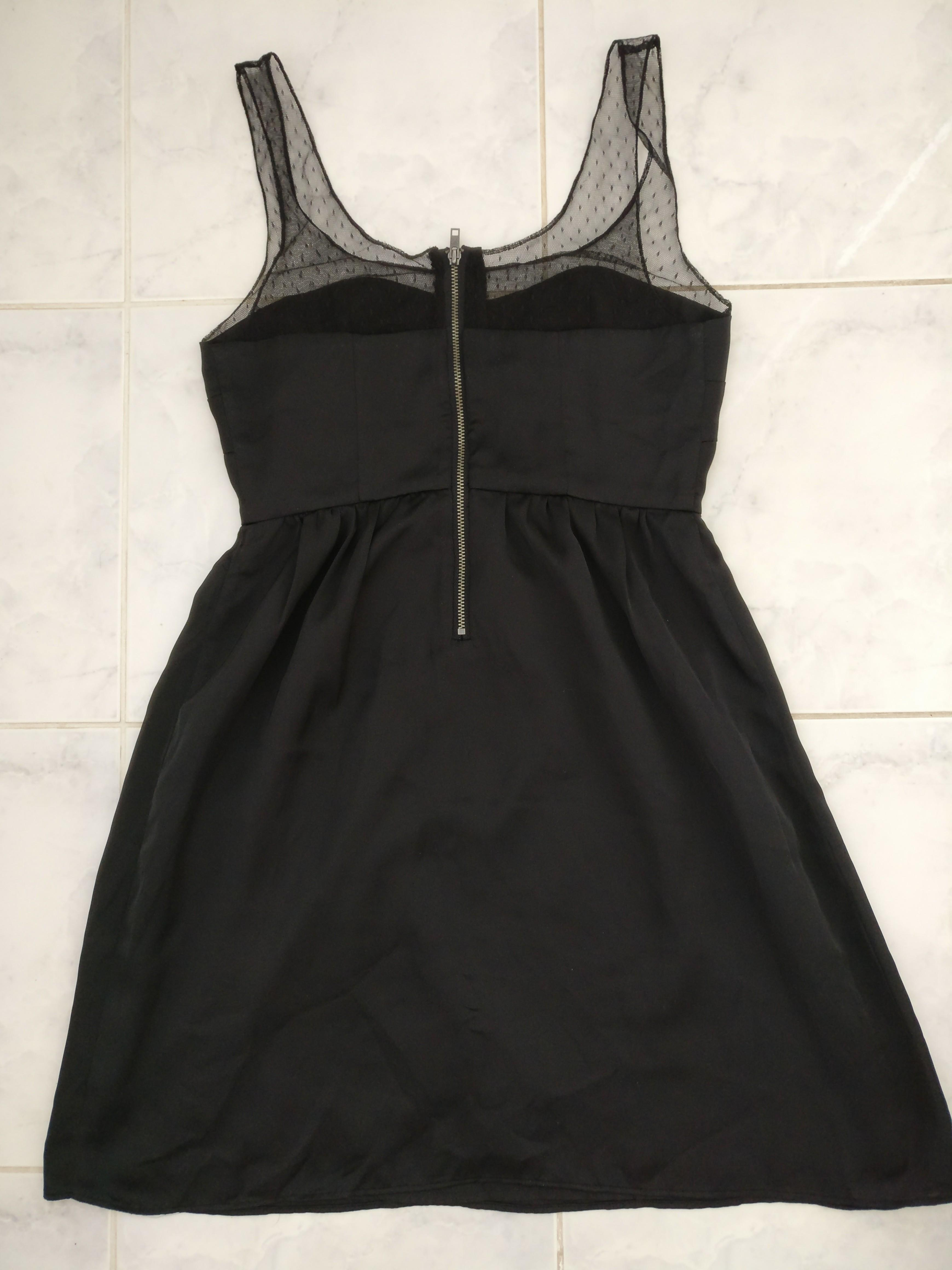 Limited Edition Satin Black Dress from American Eagle, Size 2.