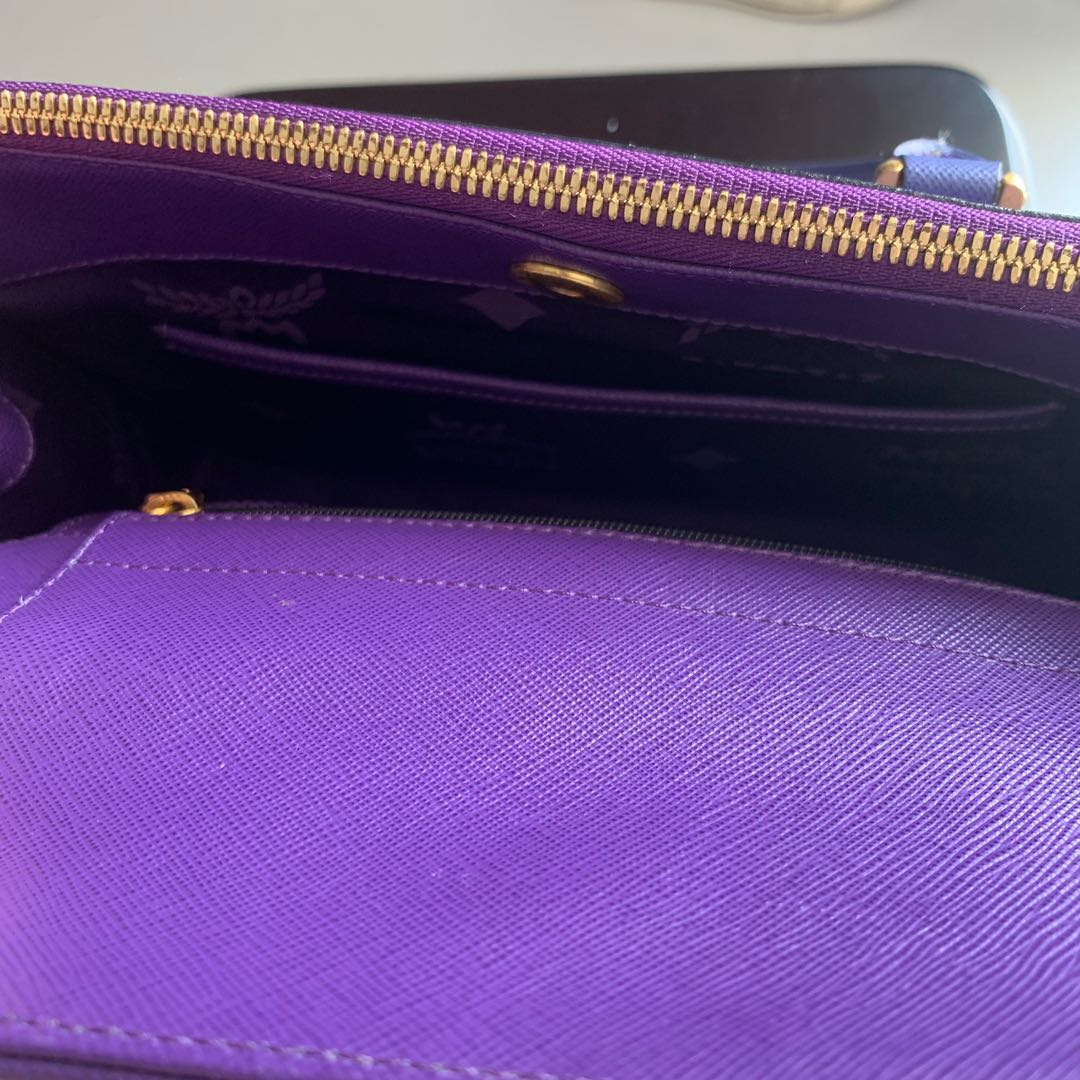 MCM bag limited edition at the time. Barely used 100% authentic