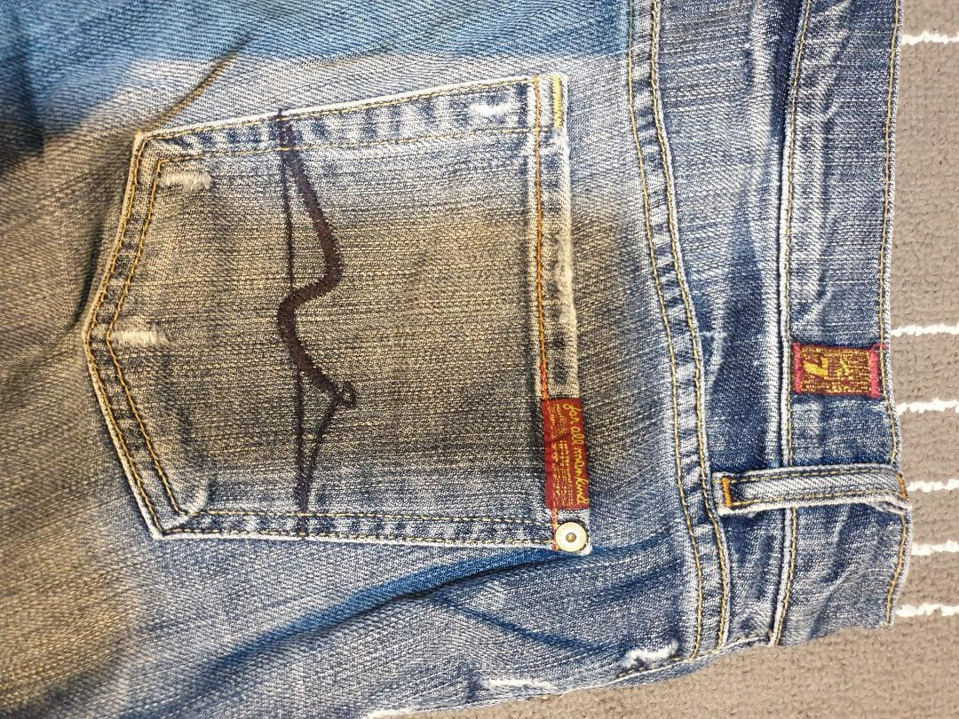7 for all mankind Men's Jeans standard cut size 29