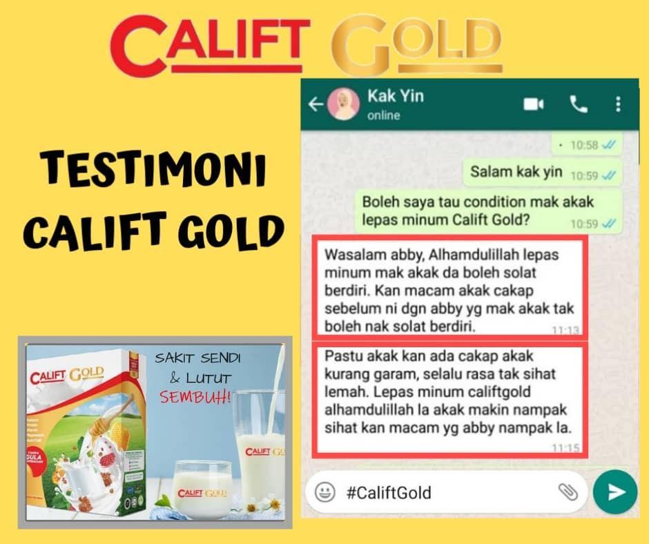 Milk for strong bones calift gold