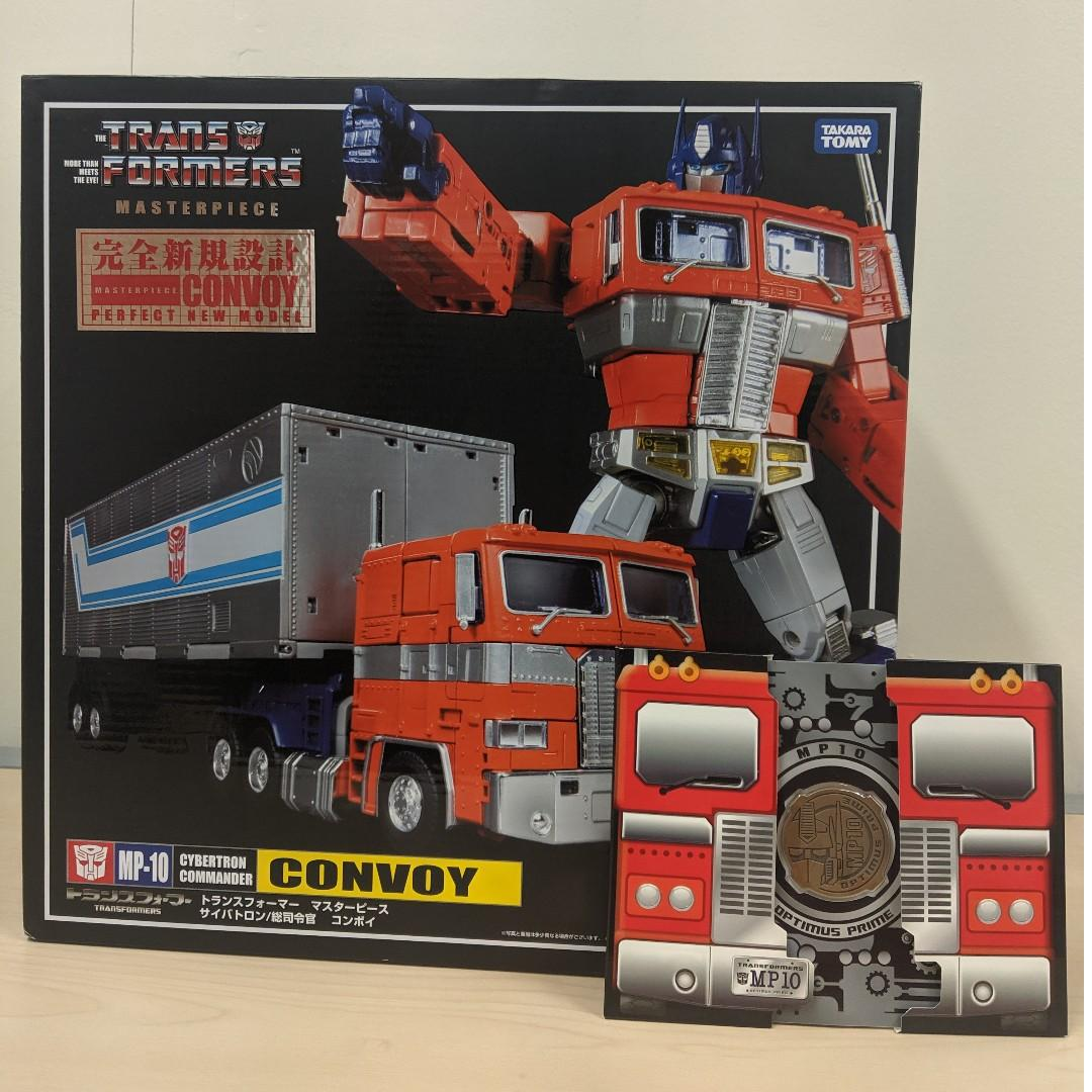 MISB Takara Tomy Transformers Masterpiece MP-10 Optimus Prime with Collector Coin