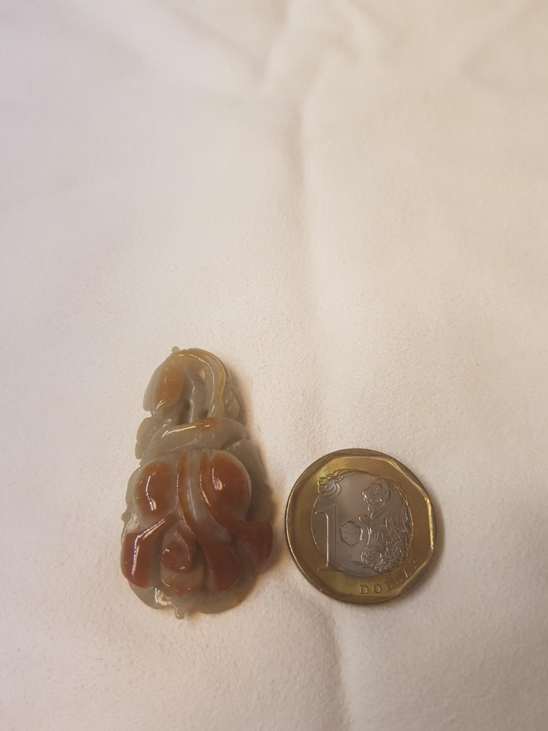 Natural Type A Red Jade