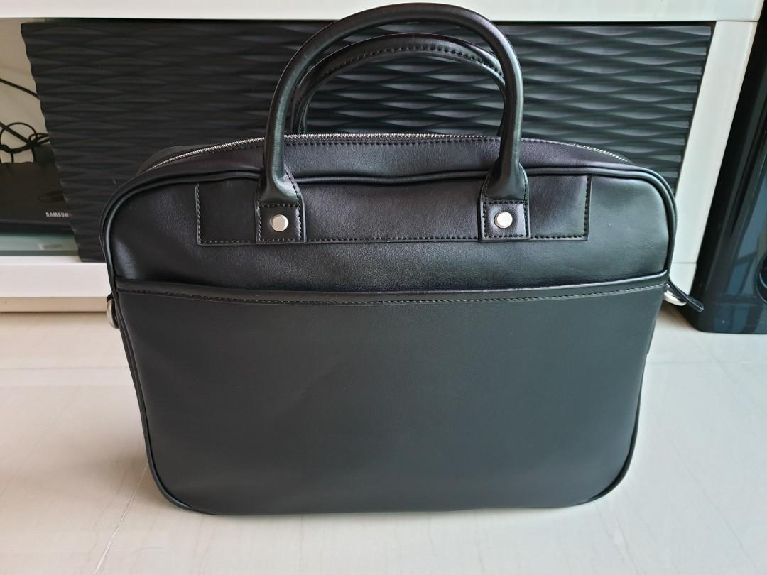 New Mazda Leather Briefcase Laptop Bag
