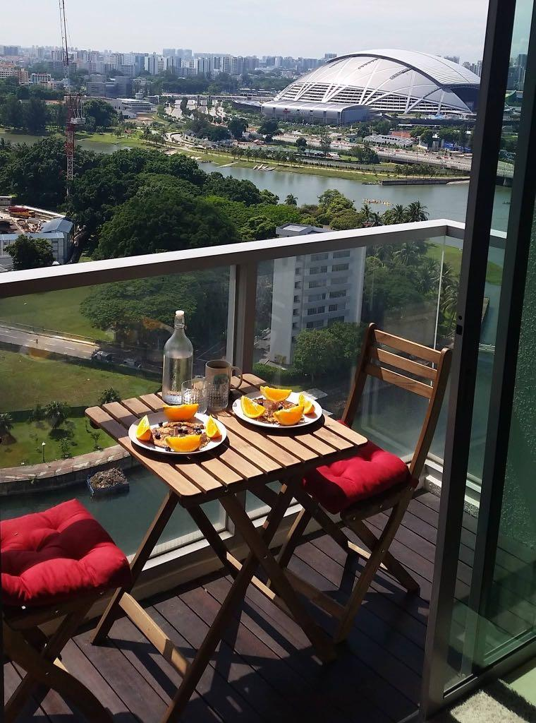 Outdoor Furniture Ikea Balcony Table Chairs Furniture