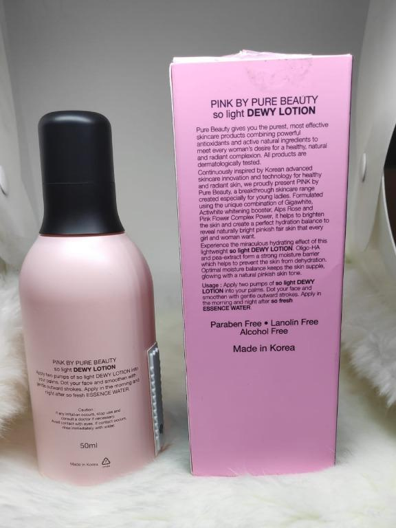 003 PINK so light Dewy Lotion