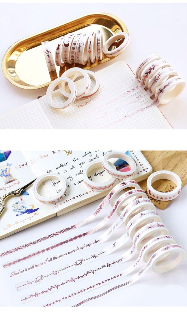 [PO] branches copper foil thin washi tape