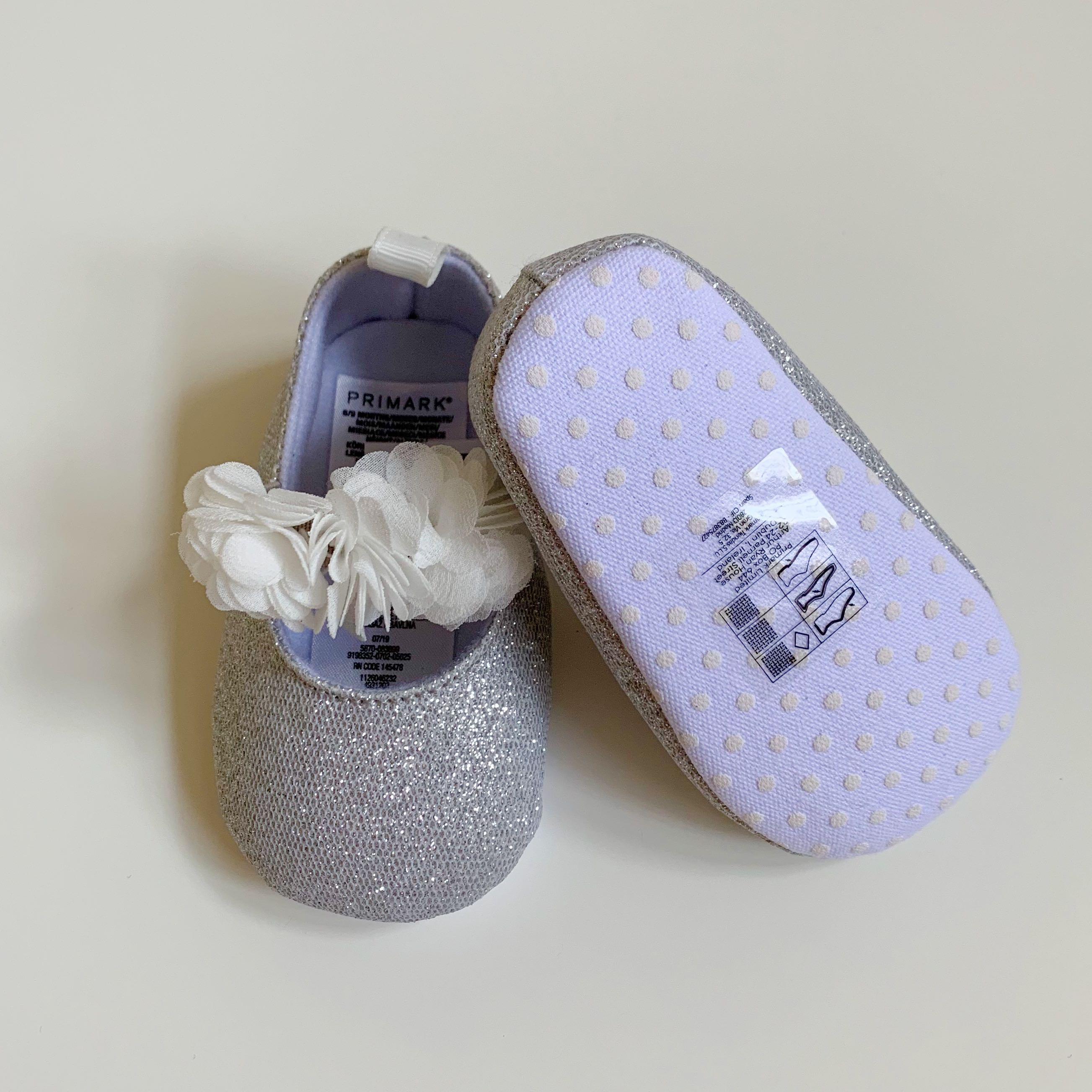 🇬🇧英國Primark®正品 柔軟閃亮芭蕾舞鞋 BB鞋