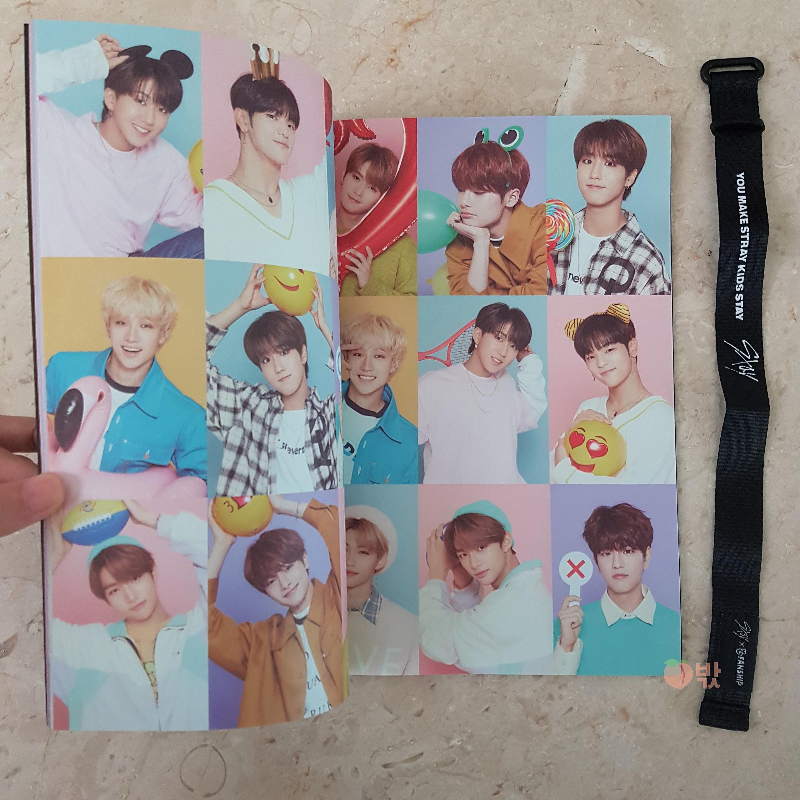 [Ready Stock] Stray Kids Stay Fanship Kit (Photobook + Hand Strap)