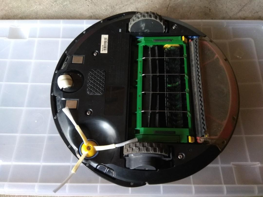 Roomba 555 working (need replace battery)