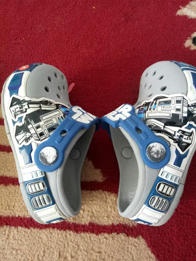 Sandal Crocs Star Wars original anak size 6