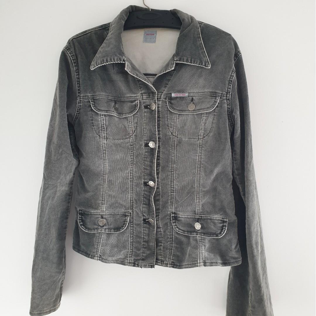 Sass & Bide Grey Denim Style Jacket - Size 10