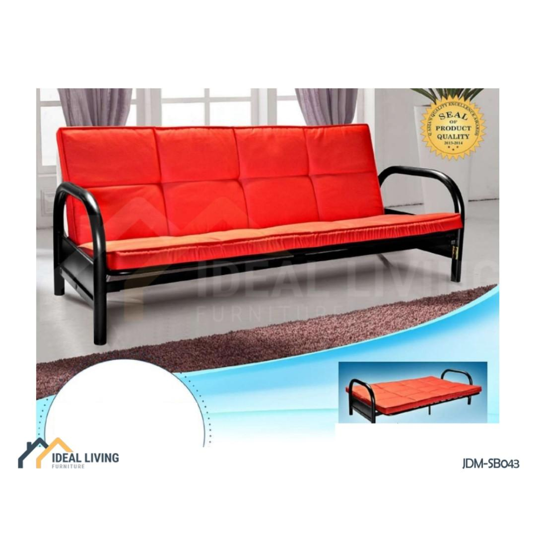 Sofa Bed With Metal Frame Ideal Living Furniture Furniture Home Living Furniture Bed Frames Mattresses On Carousell