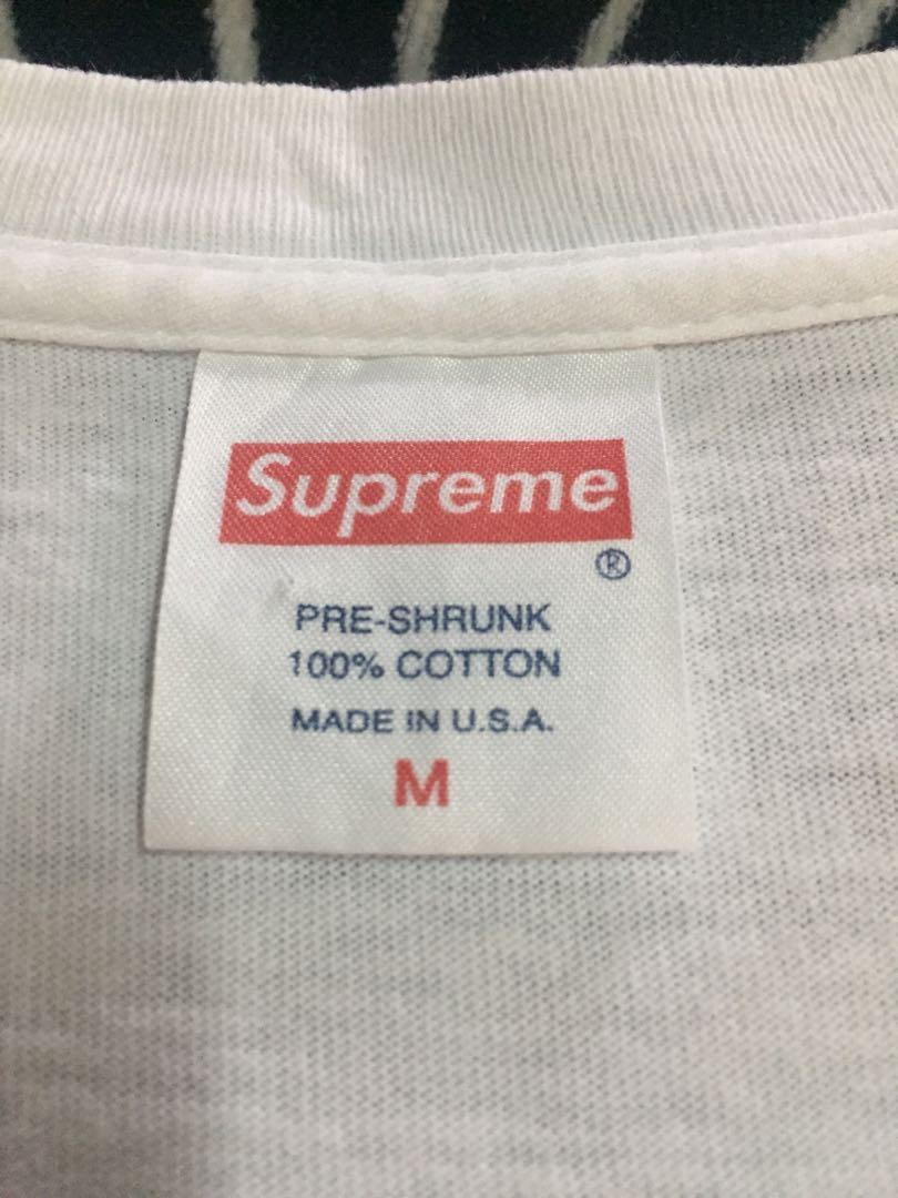 Supreme 黑白裸女 Tee