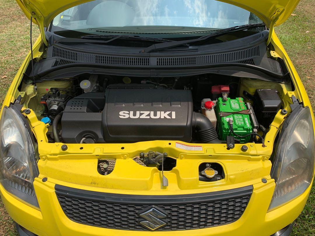 Suzuki Swift Sport 1.6 VVT 5-Dr (A)