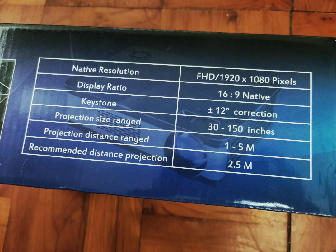 Texas Sonic full HD projector 全高清投影機
