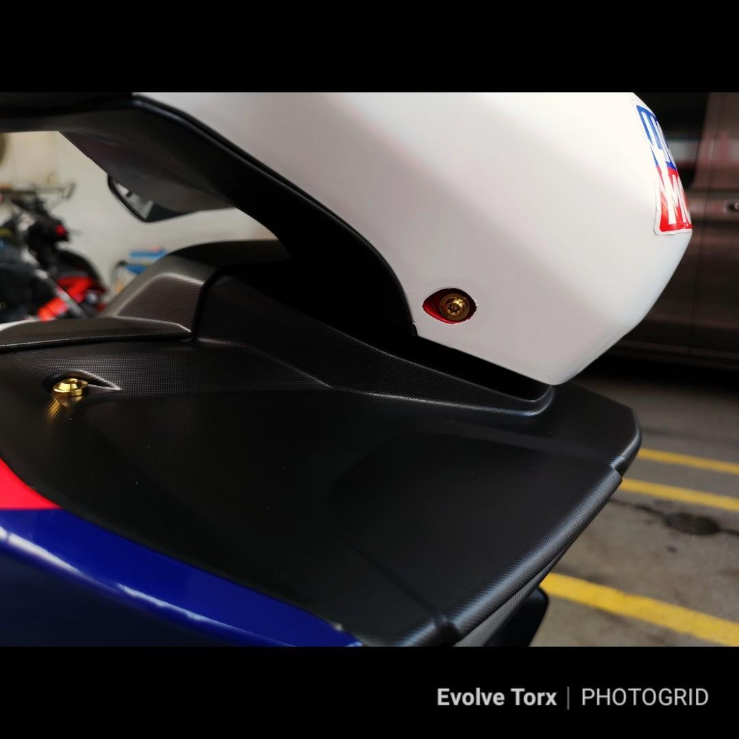 🔩Titanium Torx Coverset Screws for Cubs/Mopeds/Yamaha Aerox/NVX155/Sniper