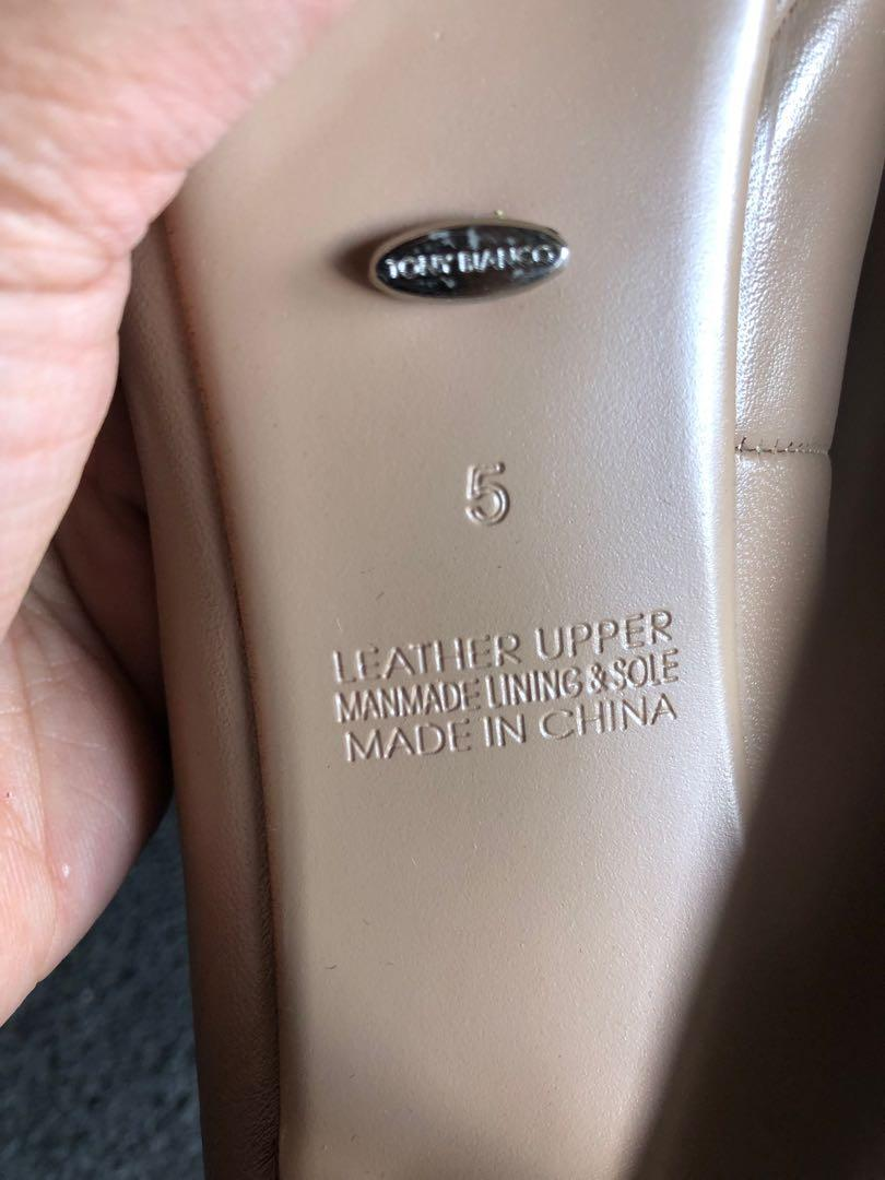 Tony Bianco Nude leather pumps - size 5