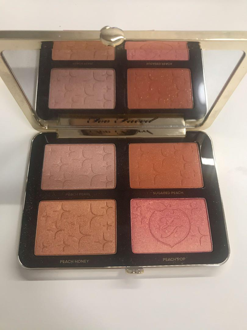 TOO FACED Sugar Peach Wet and Dry Face and Eye Palette