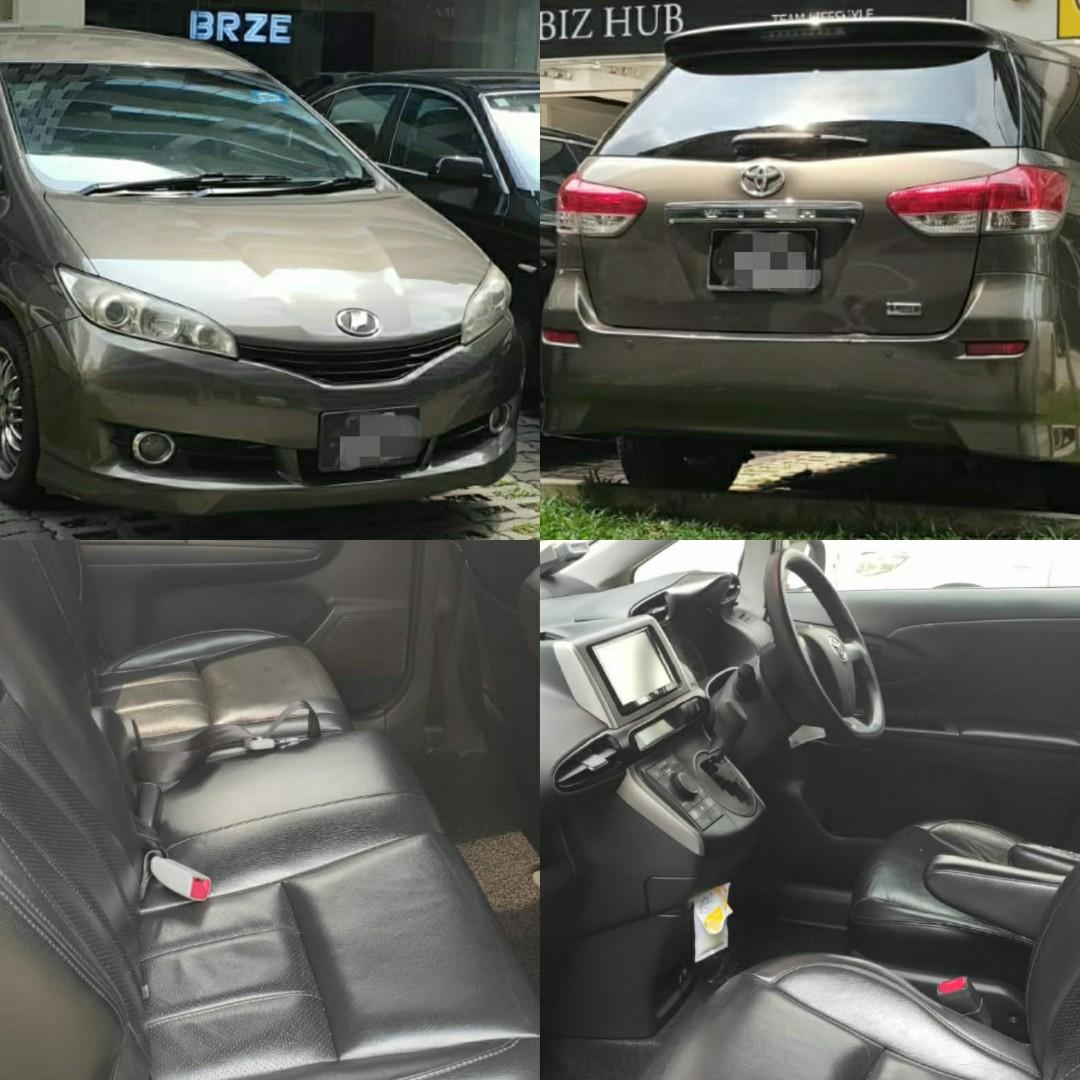 Toyota Wish 2nd Gen for rent/LTO