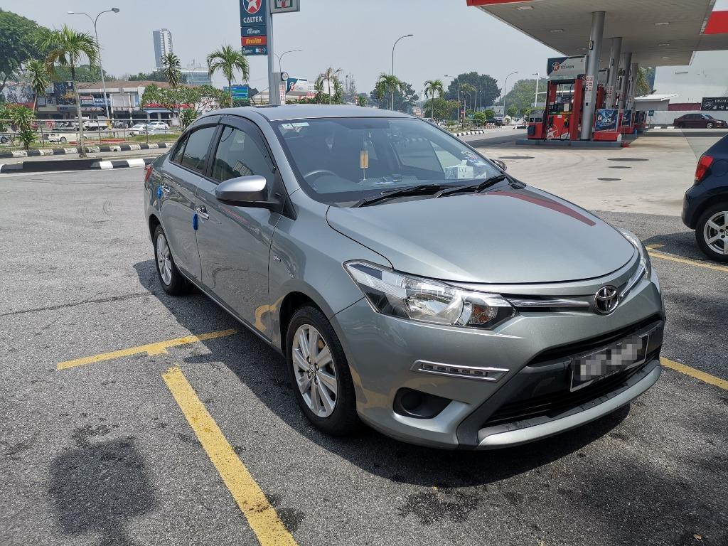 Used Toyota Vios for sale 2016 TOYOTA VIOS J, Touch Screen + UR Bar