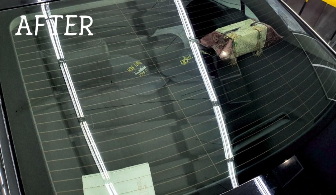 Windscreen Watermark Stain Removal Service