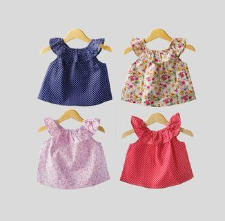 Atasan bayi / anak perempuan  0- 18 bulan