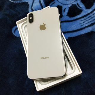 iPhone X 256G 銀色 優質二手機