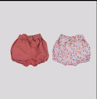 Celana Pendek bayi / baby