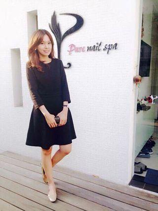 小脆黑色洋裝