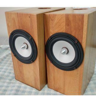 Sophia 2 speakers (solid wood cab, not veneer) by DIYparadise, M'sia