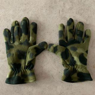 Authentic bape camo fleece gloves visvim supreme undercover