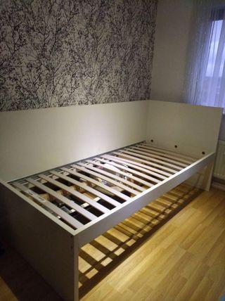 Ikea Single Bed (FLAXA)