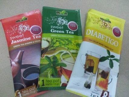 Stevia Teh Udah Manis Tanpa Gula