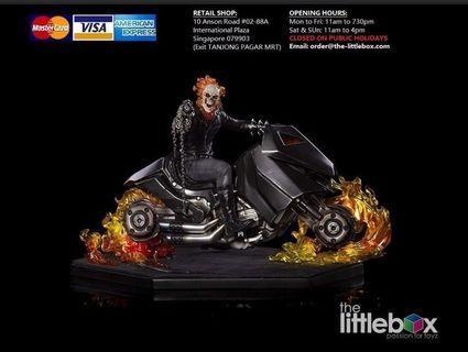LAST BOX! Iron studio 1/10 Toy fair exclusive Ghost Rider Statue