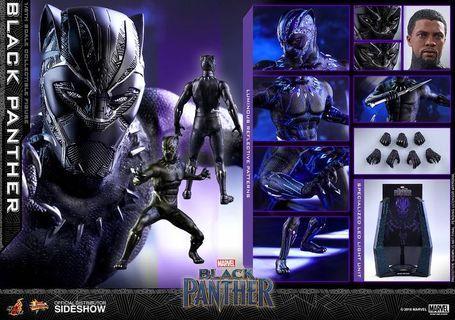 hot toys black panther 2.0