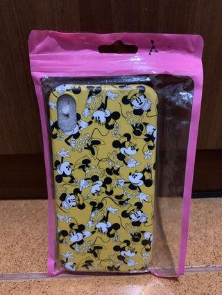 Hardcase iPhone XR minnie mouse kuning