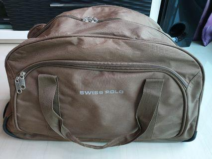 Swiss Polo Trolley Duffle Bag