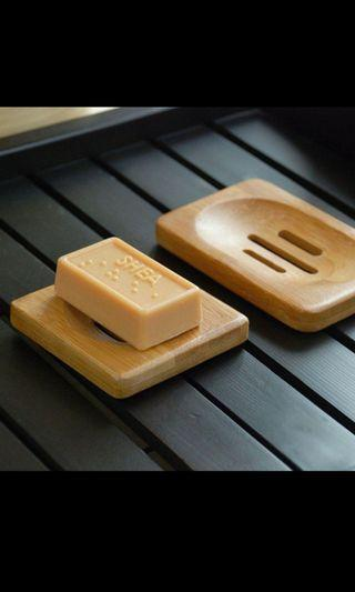 🌟Natural Bamboo Wooden Soap Dish🌟🌴Eco Friendly World🐳