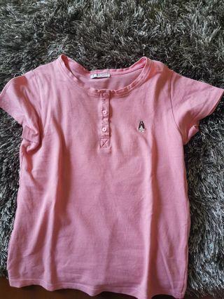 Hush puppies shirt pink
