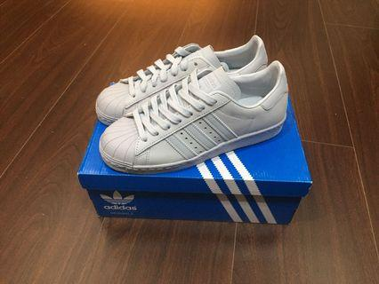 Adidas Superstar 80s 水藍色