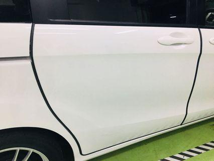 Bumper guard installation