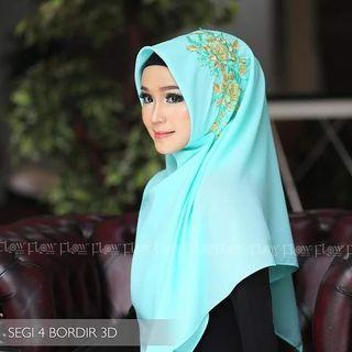 Kerudung Instan hijab jilbab bergo scarf Khimar luxury