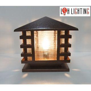 LSH Lighting Antique Classic Outdoor Pillar Light 9383/300