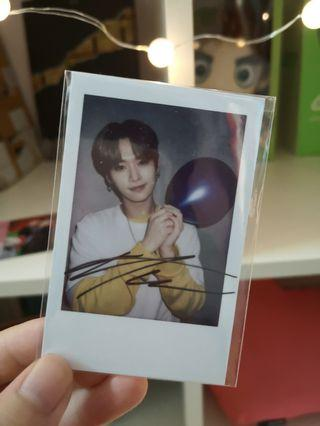 Wts Stray kids Hi-Stay official Polaroid (Lee Know)