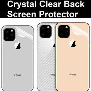 iPhone 11 / iPhone 11 Pro Max Crystal Clear Back Screen Pro