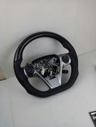 Toyota  Camry carbon fiber customized steering wheel 12 13 14