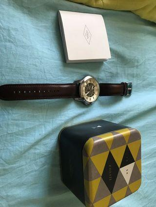 fossil watch automatic