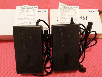 60v20ah ebike charger