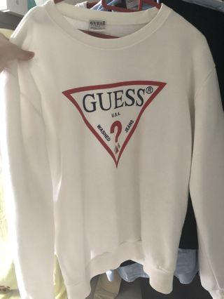 Authentic Guess classic  Sweatshirt
