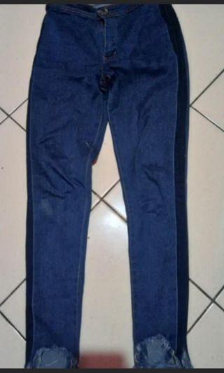 Ripoed jeans highwaist